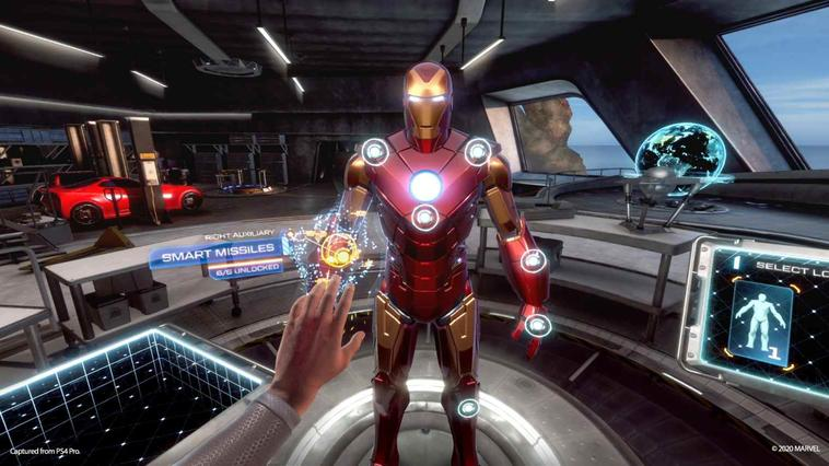 Iron Man Suit in Iron Man VR