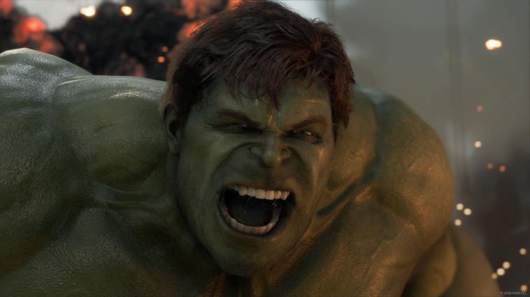 Hulk in Marvel's Avengers