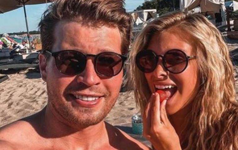 Raul Richter und seine Freundin Vanessa Schmitt zeigen sich auf Instagram freizügig