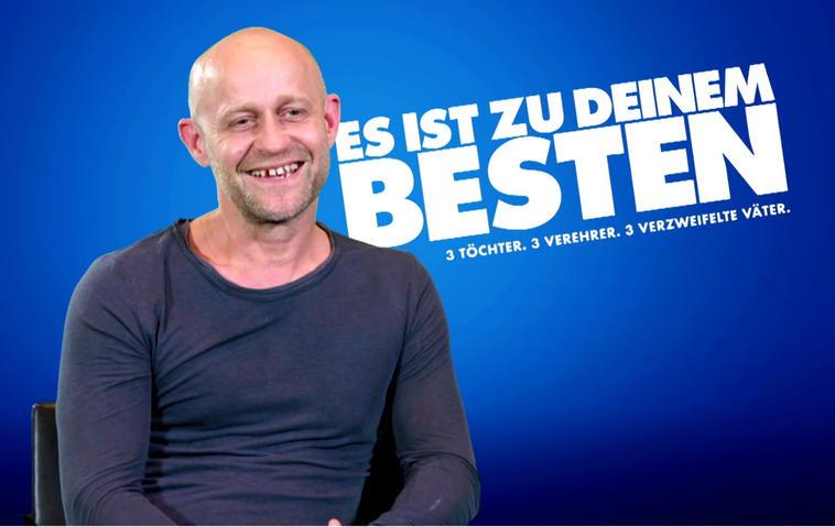 Es ist zu deinem Besten: Jürgen Vogel im TV Movie Online Interview