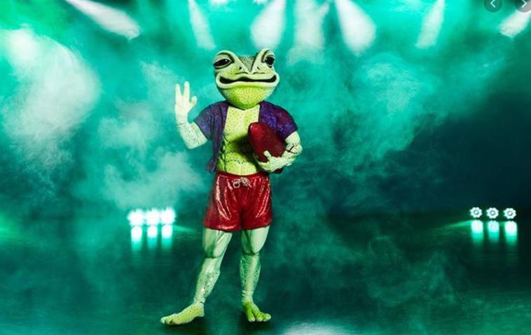 Masked Singer Frosch