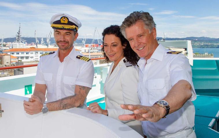 Das Traumschiff: Florian Silbereisen, Barbara Wussow, Nick Wilder