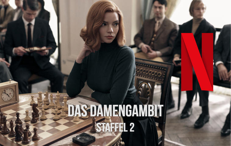 Netflix | Das Damengambit - Staffel 2: Start, Inhalt, Darsteller