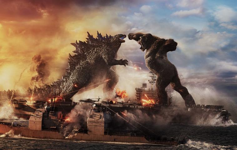 """""""Godzilla vs. Kong"""": So sieht das Aufeinandertreffen der Filmmonster aus!"""