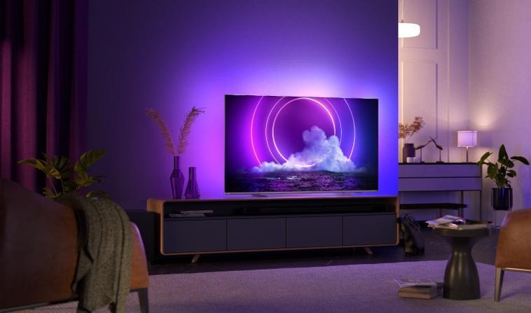 Fernseher mit Ambilight