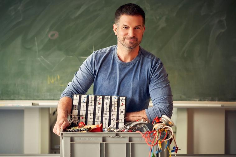 """Der Lehrer"": So sah Simon Böer früher aus."