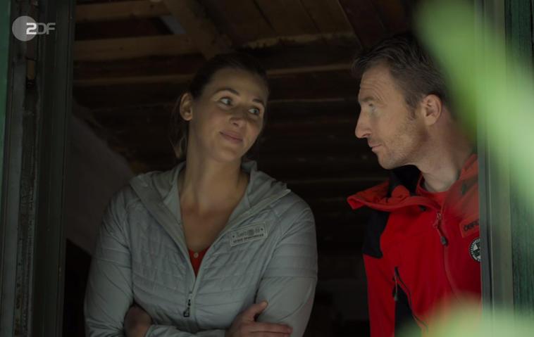 """""""Der Bergdoktor""""-Linn gesteht Hans ihre Liebe"""