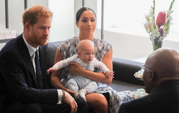 Meghan, Harry und Archie