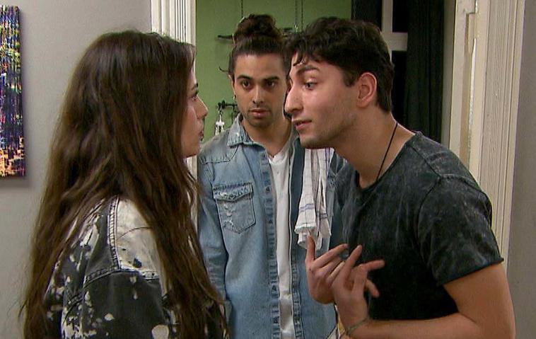 Berlin - Tag und Nacht: Dean erwischt Miguel & Olivia beim Kuss   Vorschau