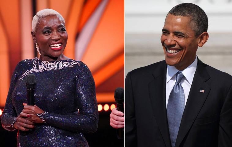 Auma Obama / Barack Obama
