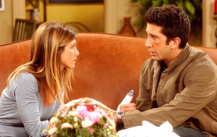 Friends / Jennifer Aniston und David Schwimmer