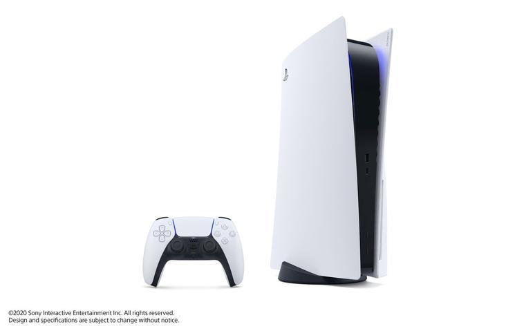PlayStation 5 Konsole und Dualsense-Controller
