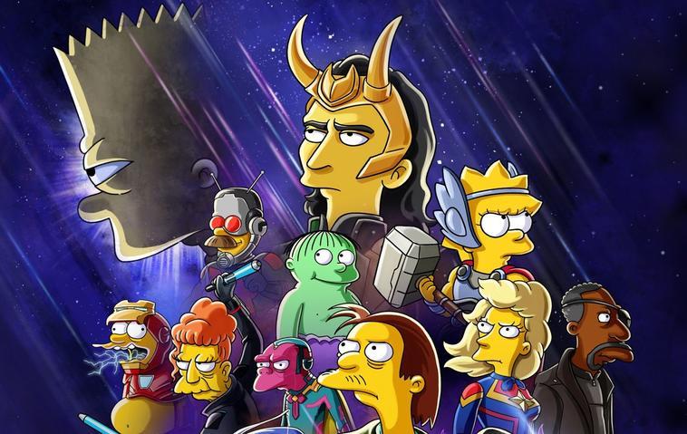 Bart & Loki Disney