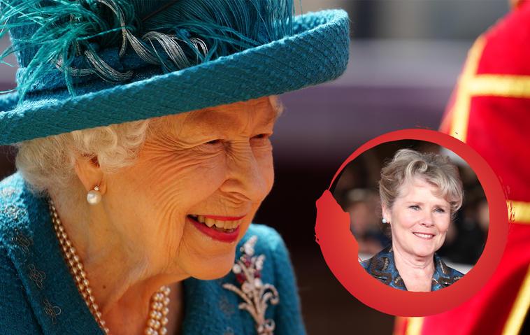 Die Queen und Imelda Staunton