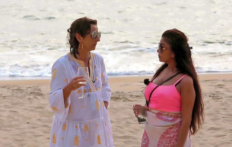 Kampf der Realitystars: Claudia Obert & Kader Loth am Strand