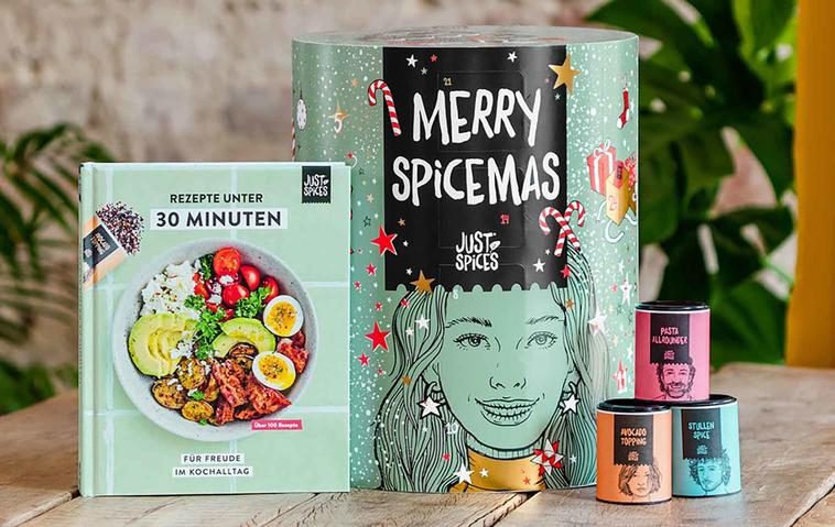 Gewinne einen der beliebten Adventskalender von Just Spices