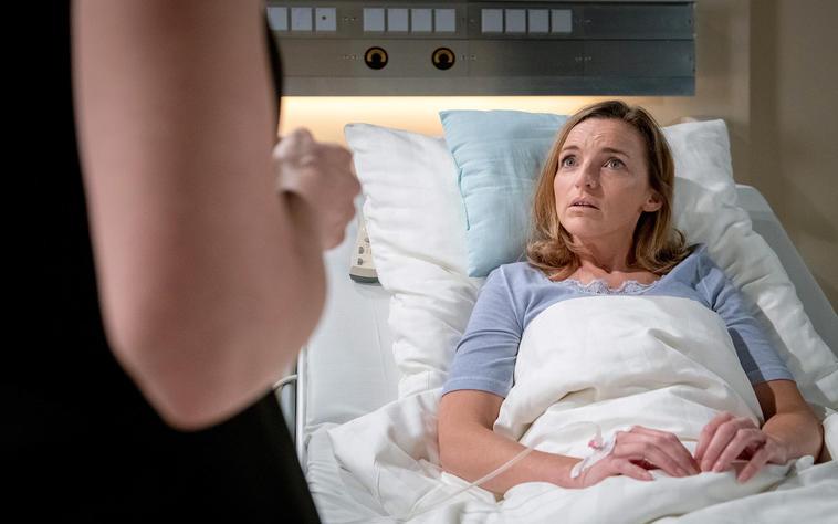 Lia im Krankenhaus