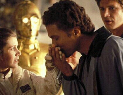 """Star Wars 7"" mit Lando Calrissian"