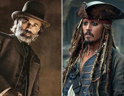 """""""Fluch der Karibik 5"""": Christoph Waltz jagt Jack Sparrow"""