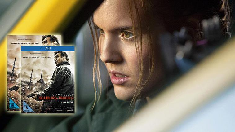 """96 Hours - Taken 2"" auf DVD & Blu-ray"