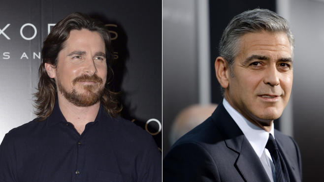 George Clooney Christian Bale