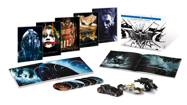"""Ab 4. Oktober auf Blu-ray: """"The Dark Knight Trilogy Ultimate Collector's Edition"""""""