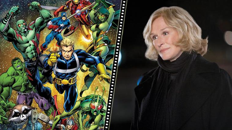 """Guardians of the Galaxy"": Glenn Close wird Nova-Corp-Chefin"
