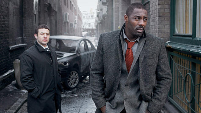 "Idris Elba (rechts) in der Krimi-Serie ""Luther"""
