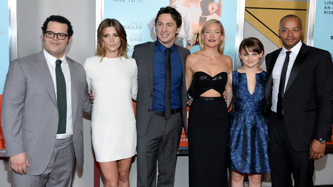 Josh Gad, Ashley Greene, Zach Braff, Kate Hudson, Joey King, Donald Faison