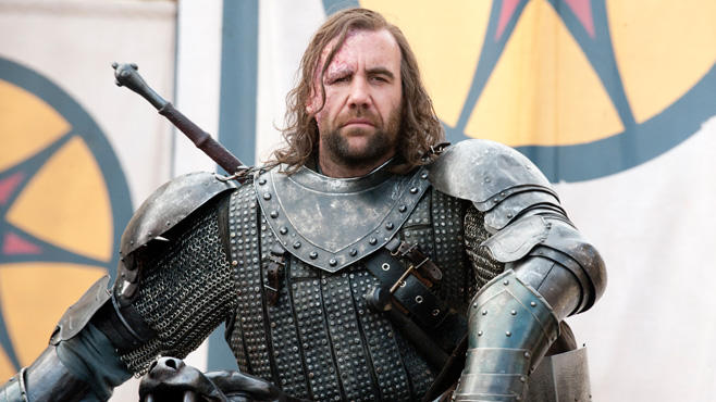 Bluthund Sandor Clegane, Game of Thrones