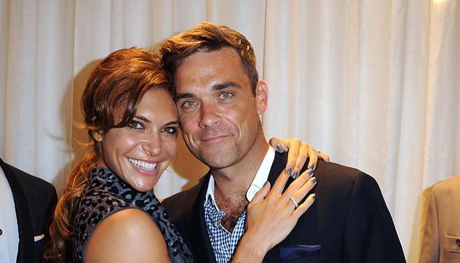 Überglücklich: Ayda Field und Robbie Williams sind Eltern geworden. Das Baby ist kerngesund.
