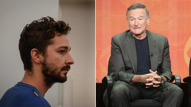 Shia LaBeouf und Robin Williams
