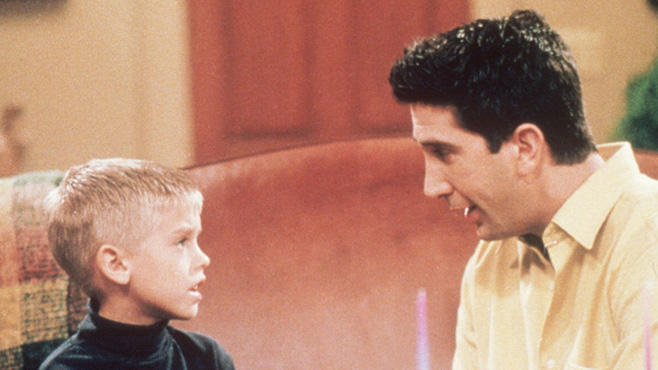 Cole Sprouse, David Schwimmer