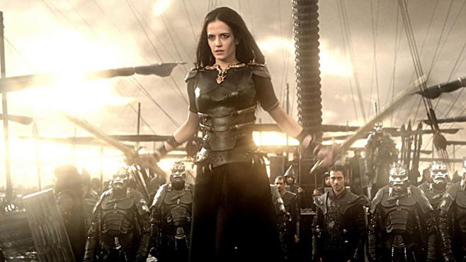 "Eva Green in ""300: Rise of an Empire"""