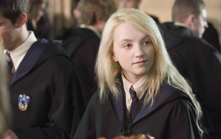 Evanna Lynch in Harry Potter