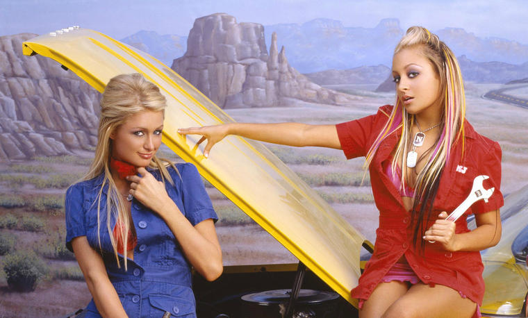 Simple Life, Paris Hilton, Nicole Hilton