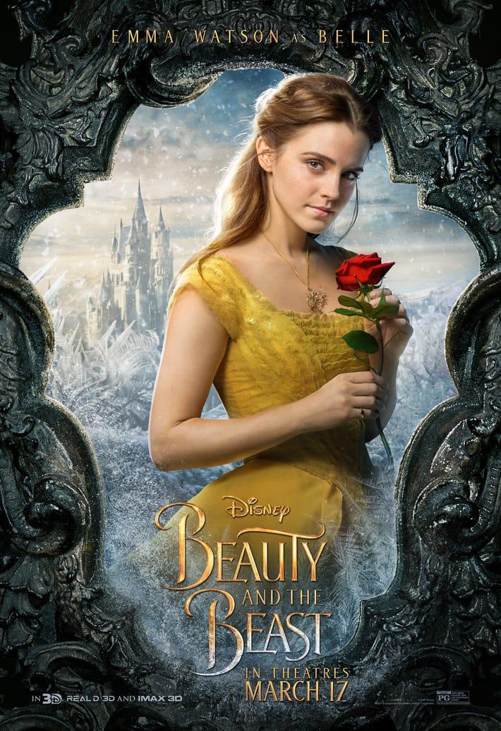 """Emma Watson als Belle in """"Die Schöne und das Biest"""""""