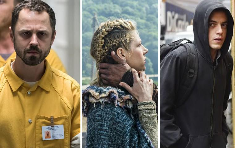 Die besten Amazon Prime Serien - Sneaky Pete, Vikings, Mr. Robot Collage