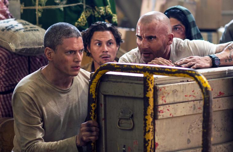 """Prinson Break"" - Staffel 5: Lincoln Burrows (Dominic Purcell) und Michael Scofield (Wentworth Miller)"
