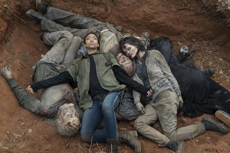 "Sasha und ""The Walking Dead""-Zombies, Staffel 5"