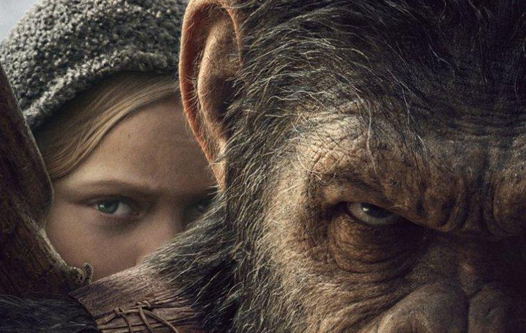 """Planet der Affen: Survival"" Poster"