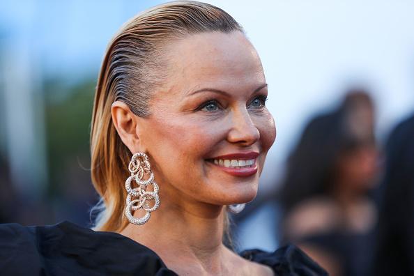 Pamela Anderson im Mai 2017