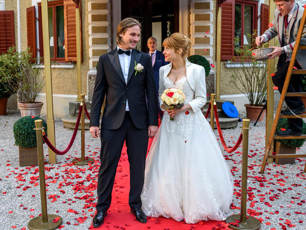 William und Rebecca heiraten