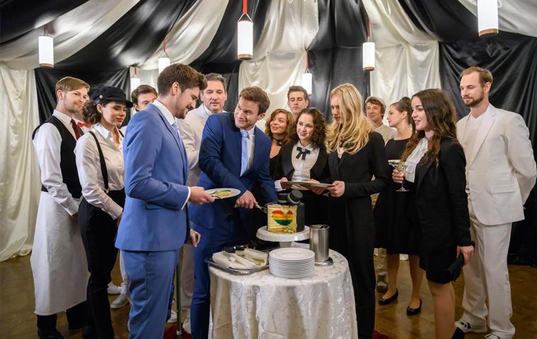 Sturm Der Liebe Alle Hochzeitsbilder Boris Tobias Und Larissa Im
