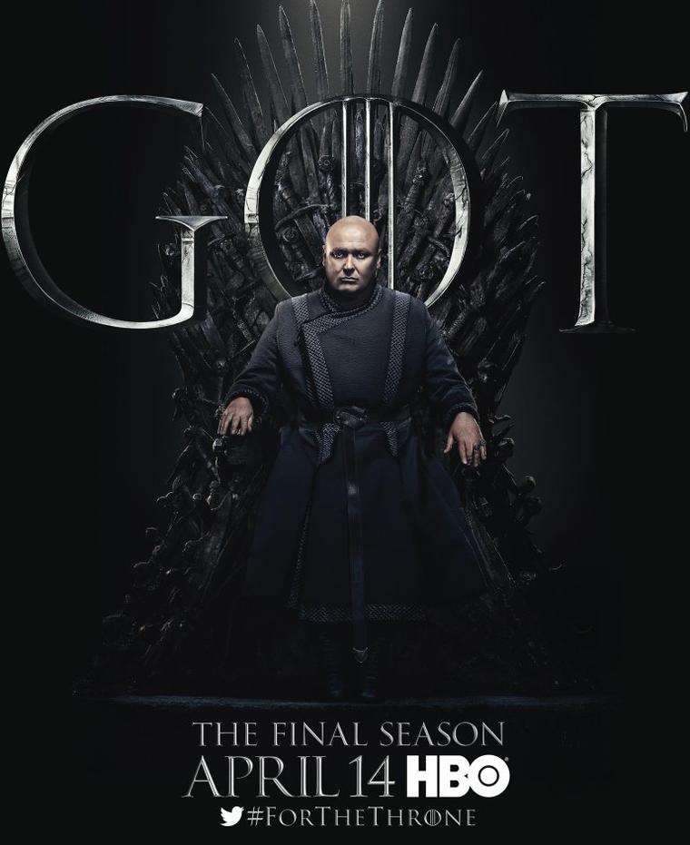 """Game of Thrones""-Staffel 8: Varys"