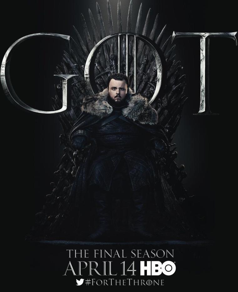 """Game of Thrones""-Staffel 8: Samwell Tarly"