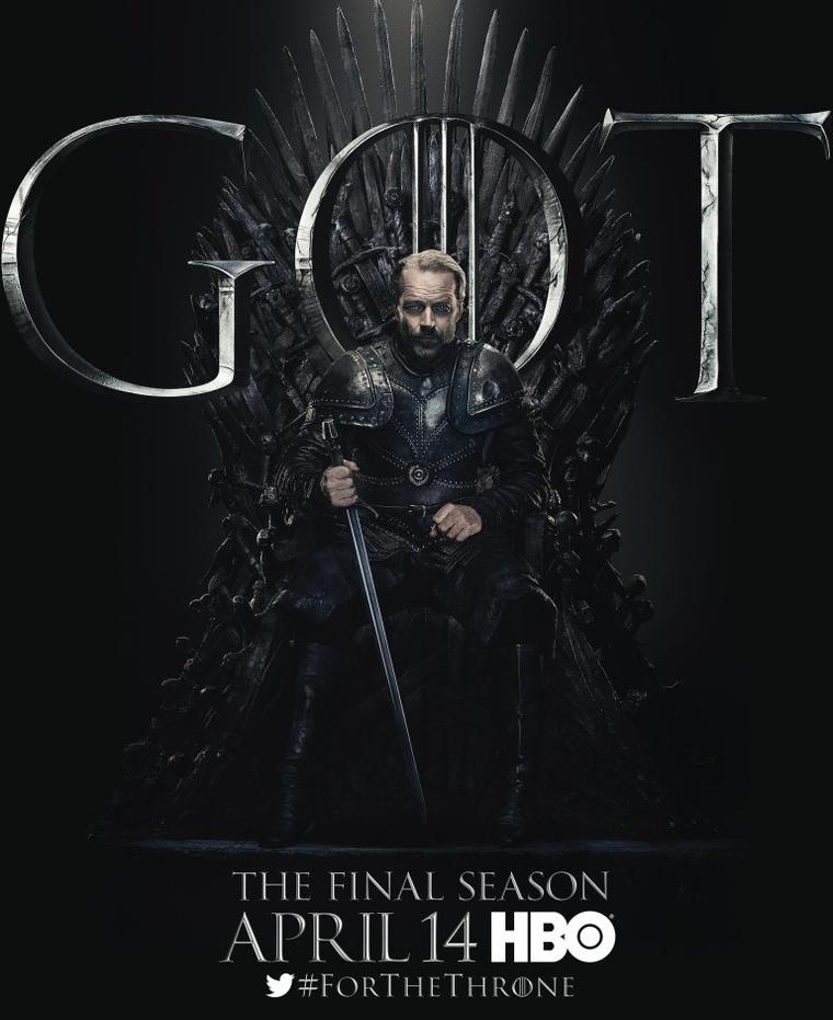 """Game of Thrones""-Staffel 8: Jorah Mormont"