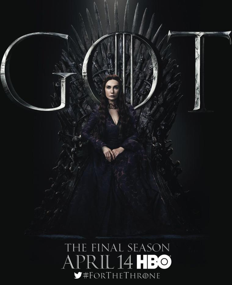 """Game of Thrones""-Staffel 8: Melisandre"