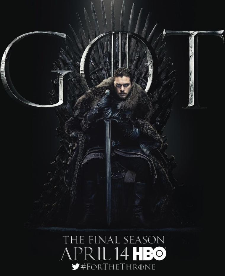 """Game of Thrones""-Staffel 8: Jon Snow"