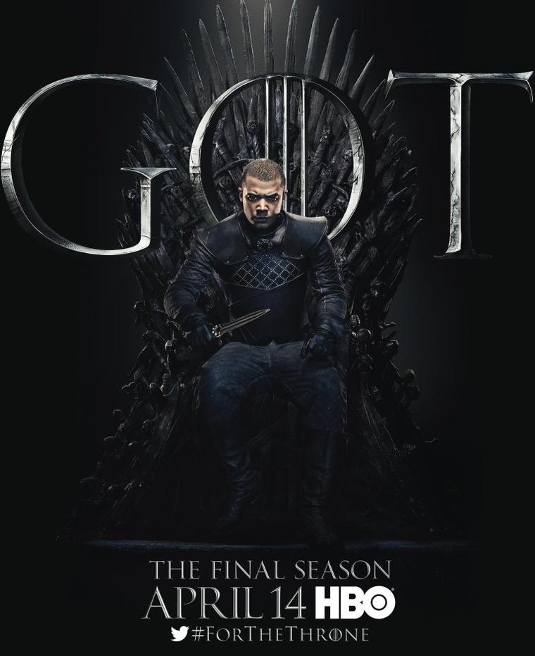 """Game of Thrones""-Staffel 8: Grauer Wurm"